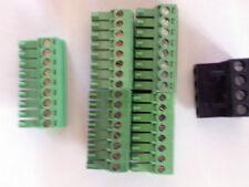 CRESTRON TERMINAL block SET CONNECTOR PLUG SET FOR PRO2 AV2 CP2E CONTROL SYSTEMS