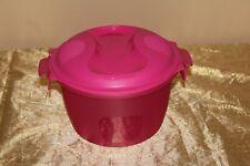 Tupperware Beautiful New  Fiusha Pink Microwave Rice Cooker2.2L
