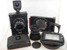 Silvestri Multi Format + Finder + Schneider 47mm f5.6 + 75mm f5.6 +2x Films Back