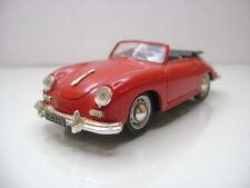 Diecast Brumm Porsche 356 Cabrio 1952 1:43 in Red Very Good Condition