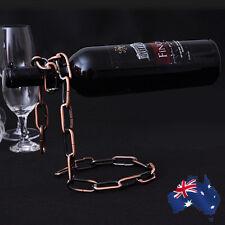 Wine Chain Rack Liquor Bottle Holder Floating Alcohol Magic Illusion HWIHA8650