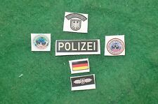 1/6 German Polizei GSG9 SWAT special forces patches