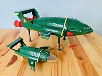 Rare 40th Anniversary Supersize Soundtech Thunderbird 2 & Torch Thunderbirds