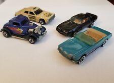 Vtg Matchbox Hot Rod 70s 80s Yat Ming Trans AM Hotwheels Mustang GT Lot of 4