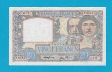 Billet 20 Francs Science et travail 04-12-1941