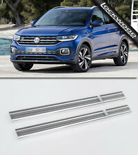 Volkswagen T-Cross (Released 2018) Stainless Sill Protectors / Kick Plates