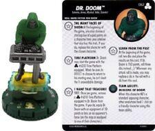 Marvel Heroclix - FF Future Foundation - DR DOOM #062 Chaser + TIME PLATFORM
