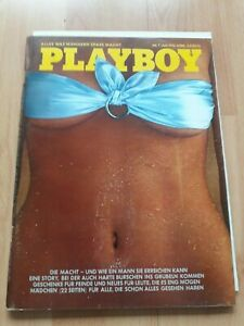 Playboy Germany 7-1976 Monica Thimme, 22 pages girls for all Centerfold detached