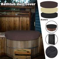 Hot Tub Bathtub Cover Round Anti-UV Protector Spa Anti Dust Waterproof Cover Top