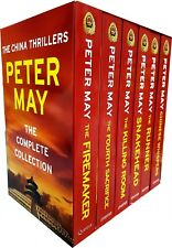 Peter May Collection China Thrillers 4 Books Set (firemaker Fourth Sacrifice Killing Room Snakehead) Paperback – 2017