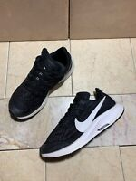 NIKE Air Zoom Pegasus 36 Big Kids GS Black Gray White FlyKnit AR4149-001 2.5Y US