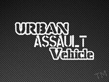 Urban Assault Vehicle Car, Van Sticker Decal Off Road