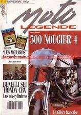 MOTO LEGENDE  19 Essai HONDA CBX 1000 BENELLI 750 Sei CEMEC C8 NOUGIER 500/4