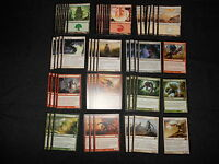 60 Card Deck - WHITE RED GREEN SLIVERS - Ready to Play - Rares - Magic MTG FTG
