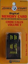 JOHNNY STEWART CROW CALLING VOLUME 1 PREYMASTER MEMORY CARD PM-3 & PM-4 MC-CR1
