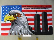 3X5 AMERICAN U.S. NO FORGETTING 9/11 PATRIOTS DAY FLAG