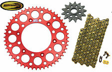 Chain Red Renthal and Sprocket 13 48 Fits Honda Crf450 2002 2003 2004 2005 2006