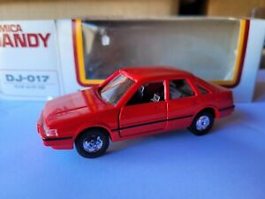 TOMICA DANDY - MAZDA CAPELLA / 626 [RED] NEAR MINT VHTF BOX GREAT JAPAN