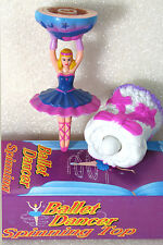 BALLET DANCER SPINNING TOP MINT IN BOX Shackman Toy Ballerina We Ship Worldwide!