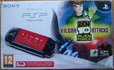 CONSOLE PORTABLE PSP SLIM & LITE SONY SERIE 3004 BEN 10 ALIEN FORCE
