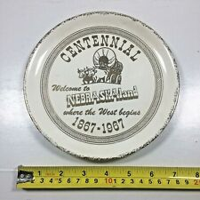 Vintage 1867-1967 Nebraska Centennial Shave Permit Valley County Metal Pin