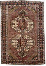 New listing Muted Distressed Antique Tribal 6'7X9'8 Oriental Rug Handmade Farmhouse Carpet