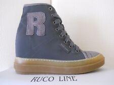 Scarpe Ruco Line 4903 Nicy Nicole Grigio sneaker donna alte zeppa n.35 €230,00