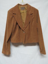 Rough Rider Suede Look Lined Jacket Size L