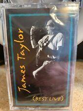 Best Live by James Taylor (Cassette) NEW Sealed