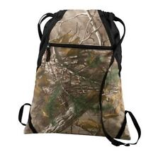 Realtree Xtra Camo Draw String Cinch Sack Bag Backpack Tote Travel Pack Bg617C