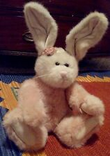 Boyds Easter Rabbit Lady Pembrook Pink Plush Jointed Bears Orig Tags Sits 13""