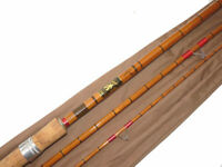 "James Aspindale ""Dalesman"" The Trudale 12' 3 piece split cane float or match rod"