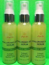 6oz (3x2oz) Collagen,Argireline,Matrixyl 3000,Hyaluronic Acid Serum,VitaminC,MSM