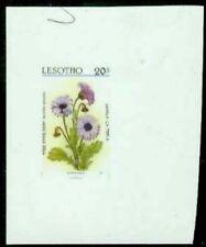 Lesotho 1987 Daisy 20s glossy plastic MASTER PROOF