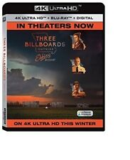 Three Billboards Outside Ebbing, Missour 4K (used) Blu-ray Only Disc Please Read