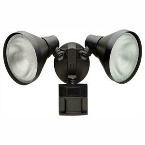 Defiant 110 Degree Black Motion Activated Outdoor SecurityFlood Light, DFI5415BK