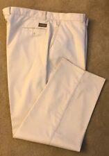 Haggar Men's 44X30 Beige 100% Cotton Durable Press Pants Very Nice Condition