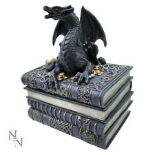 Stunning Gothic and Fantasy 'Secrets Of The Dragon' ~ Trinket Box ~ Nemesis Now