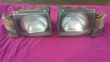MITSUBISHI PAJERO MK2 HEADLIGHTS and SIDELIGHTS