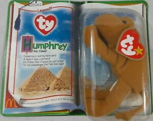 McDonalds Ty TEENIE Beanie Baby 2000 LEGENDS Humphrey the Camel Mint New on CARD