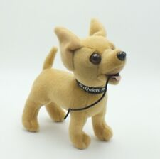 """Taco Bell Talking Chihuahua Dog 6"""" Drop the Chalupa Advertising sound Plush Doll"""