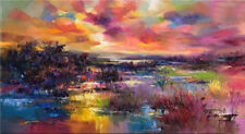 CHENPAT498 charmed beautiful landscape wall decor  oil painting art on canvas