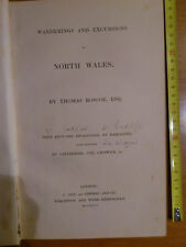 T. ROSCOE, Wanderings and Excursions in N. Wales,Tilt, Simpkin & Co.1836 1st ed.