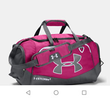 NEW UNDER ARMOUR STORM1 UNDENIABLE II Small DUFFLE BAG #1263969 PINK WATER RESIS