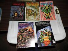 Teenage Mutant Ninja Turtles lot of 6 books #16 #18 #23 #24 #37 and #44