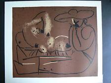 PABLO PICASSO -- LINOGRAVURE /LIMITED EDITION -- 1962/ COA