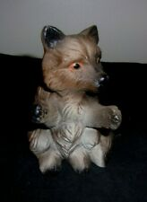 "Vintage Bear Figurine Jungle Animal Collectible 4 1/2"" Tall"