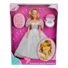 Simba steffi Love romántico vestido de bodas novia boda muñeca muñeca 32.5 cm
