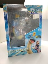 Megahouse Pokemon: Ash Ketchum & Pikachu & Lapras GEM PVC Figure