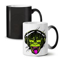 Music Monkey Cool Fashion NEW Colour Changing Tea Coffee Mug 11 oz | Wellcoda